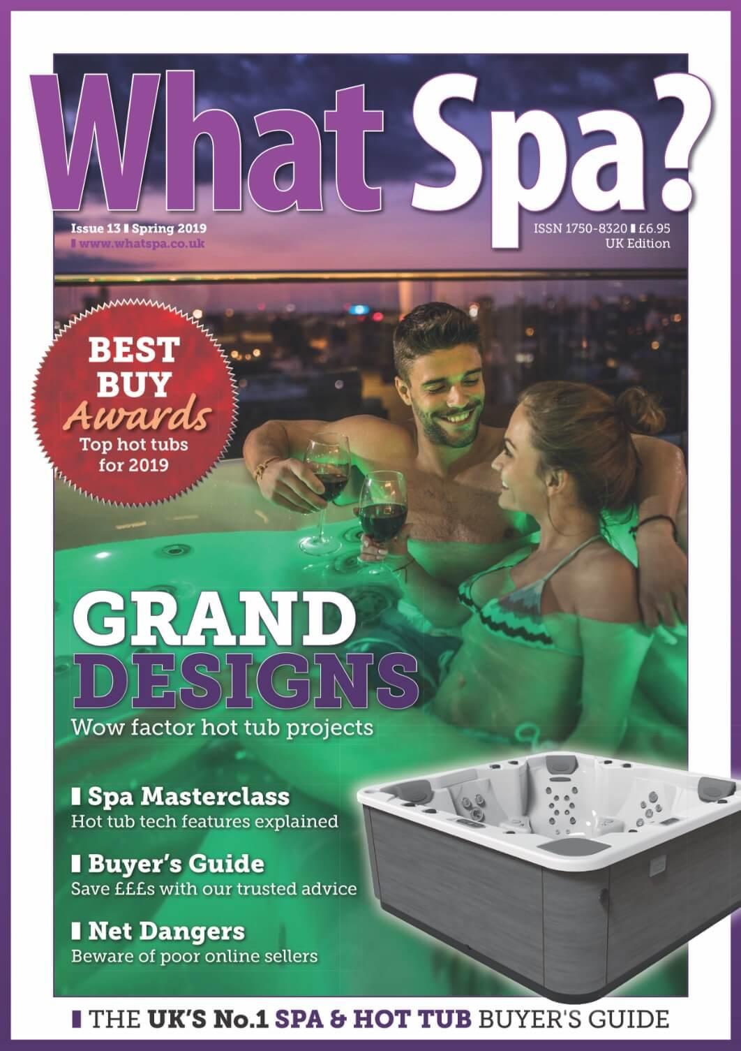 Latest WhatSpa? magazine cover