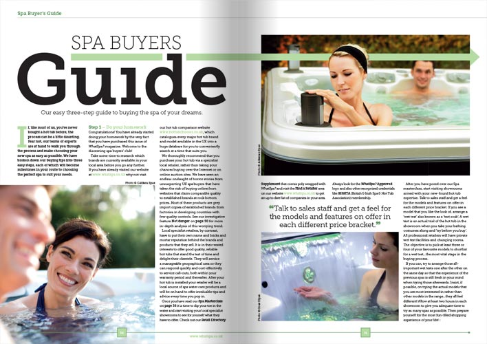 WhatSpa? Magazine preview